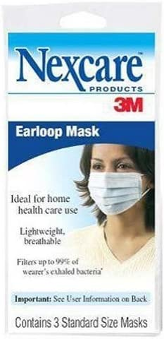 3m ear loop mask