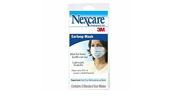 3m earloop fluid resistant face mask