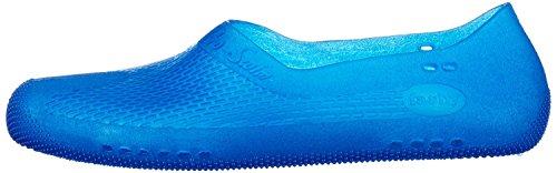 spécial fashy Bleu pour piscine Chaussures transparent d'extérieur femme plage qqwxEHprS
