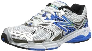 New Balance Men's M940V2 Running Shoe,White/Blue,7.5 D US