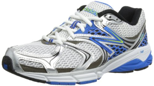 New Balance Men's M940V2 Running Shoe,White/Blue,11.5 D US
