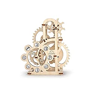 Ugears Dinamometer Model Mechanical 3d Puzzle By