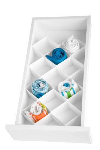 Honey-Can-Do SFT-01625 Drawer Organizer, 32-Compartment