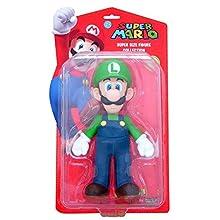 BG Games Mario Action Figures - FiFiguras de acción y colleccionables (Multicolor, 3 año(s), 4 Pieza(s), 230 mm)