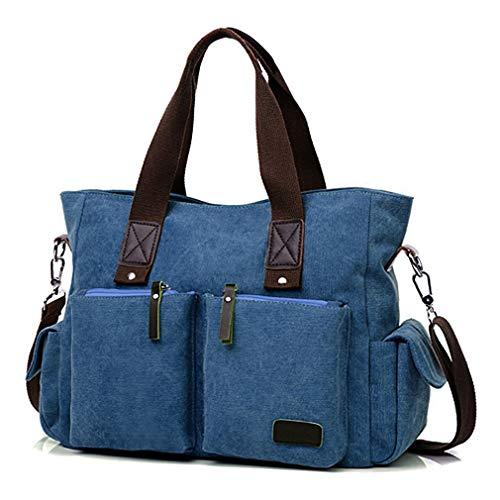 - ToLFE Women Top Handle Satchel Handbags Shoulder Bag Messenger Tote Bag Purse Crossbody Bag Travel Work Tote Bag