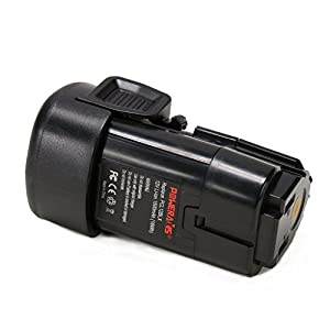 POWERAXIS 12v 1.5Ah Li-ion Replace for Porter Cable PCL12BLX 12-Volt Max Compact Cordless Power Tool Lithium Battery(Black)