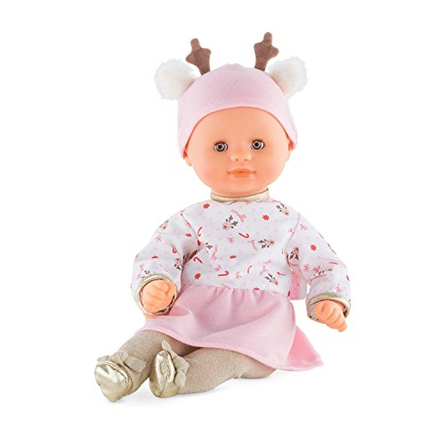 Corolle Mon Premier Poupon Bebe Calin Happy Reindeer Toy Baby Doll