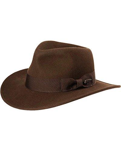 Indiana-Jones-Mens-Crushable-Wool-Fedora-Hat-Chocolate-X-Large