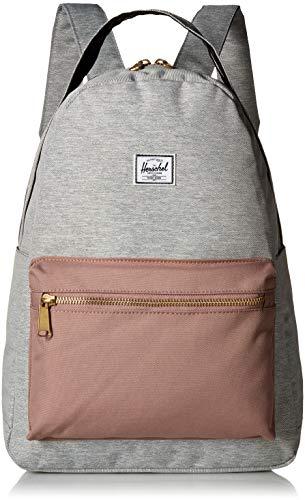Herschel Nova Mid-Volume Backpack Light Grey Crosshatch/Ash Rose/Black One Size