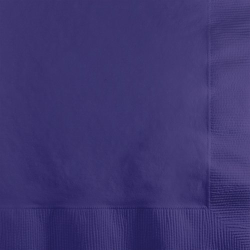 Creative Converting Beverage Napkins Purple