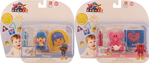 Pocoyo & Friends Bath Fun Pocoyo & Elly Traceables Bundle
