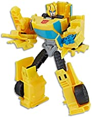 "Transformers - 5"" Bumblebee Action Figure - Cyberverse Warrior Class - Kids Toys - Ages 6+"