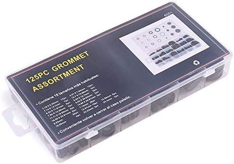 Valve Electrical Appliance 125pcs Rubber Grommet Assortment Kit Electrical Wire Gasket Assortment for Cylinder Pump