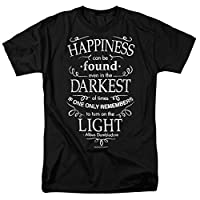Popfunk Harry Potter Dumbledore Happiness Quote T Shirt & Exclusive Stickers