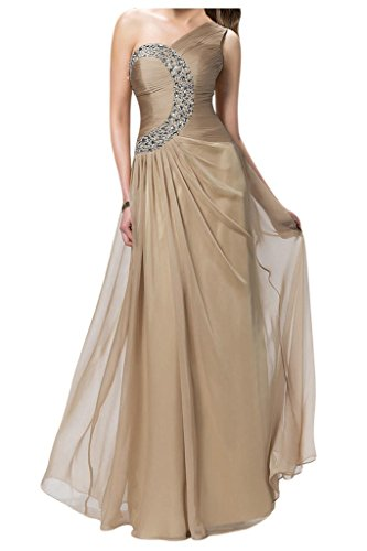 Sunvary Woman One Shoulder Chiffon Mother of the Bride Dress Long