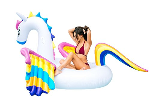 LSEA SWIMWEAR Giant Rainbow Pegasus Pool -