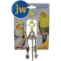 JW JW31045 Colgante Activitoy Cubiertos para Ave, Colores Surtidos