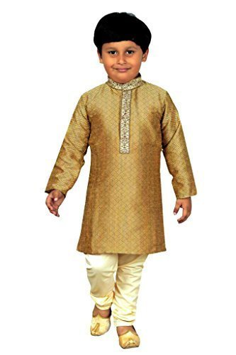 Niños Indios Sherwani Muchachos Kurta Pijama Traje de Fiesta de Bollywood  903 (4 años 523696f61ed