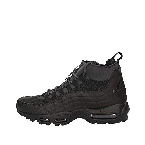 Nike Mens Air Max 95 Sneakerboot Black/Black/Anthracite/White 806809-001 Size 8 (Nike Air Max Classic Bw)