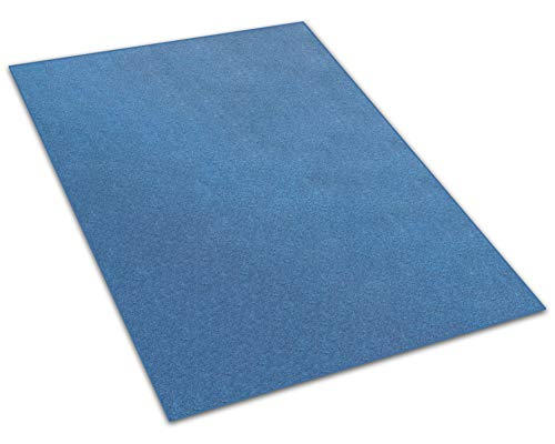 Koeckritz 6 x9 – Cobalt – Indoor Outdoor Area Rug Carpet, Runners Stair Treads with a Premium Nylon Fabric Finished Edges