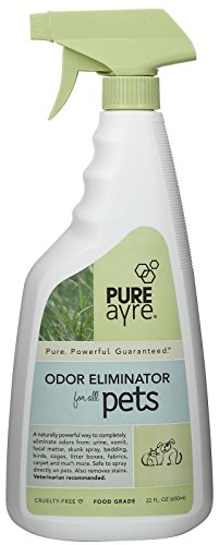 PureAyre – All-Natural Plant-Based Pet Odor Eliminator – Pure, Powerful, and Completely Safe – 22 Ounces -