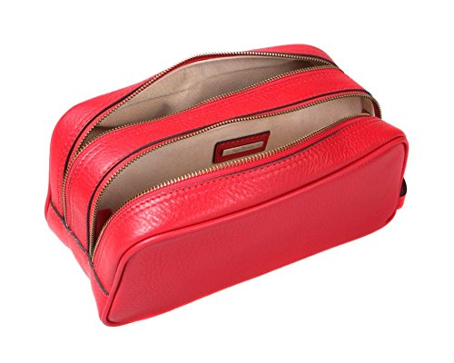 SAGEBROWN Red Toiletry Bag by Sage Brown (Image #4)