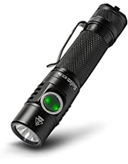 Sofirn SC31 Pro Rechargeable Flashlight 2000 Lumen, Pocket Light with Powerful SST40 LED, Anduril UI for Camping Hiking Fishing etc, 18650 Battery and USBC Cable Included