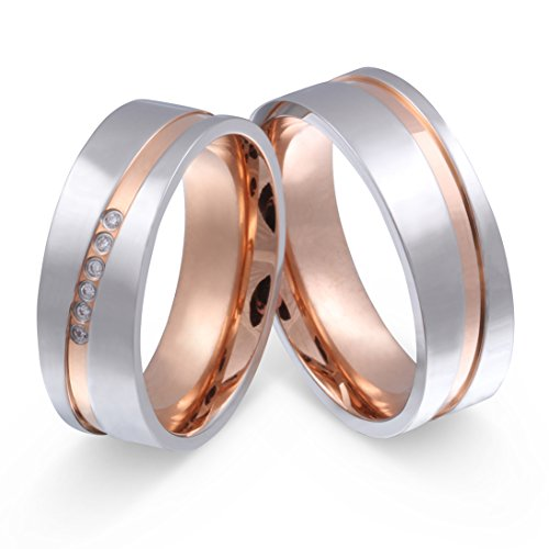 Amazon Com Jewelery Codex His Hers Wedding Band Wedding Rings