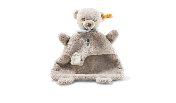 Steiff 241451 Hello Baby Levi oso schmusetuch en caja de regalo, Multicolor