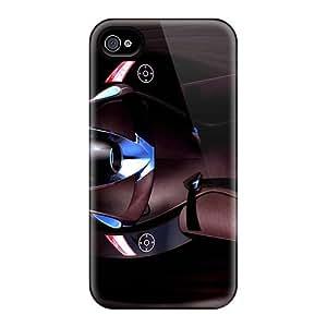 New Premium Flip Case Cover Mazda Futuristic Interior Skin Case For Iphone 4/4s