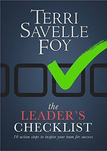 Download The Leader's Checklist: 10 Action Steps to Inspire Your Team for Success PDF