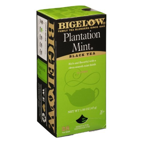 Plantation Iced Tea (Bigelow Tea Bags, Plantation Mint, 28-Count Boxes (Pack of 6))