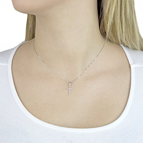 Pave Prive femme  14carats (585/1000)  Or blanc|#Gold Rond   Transparent Diamant