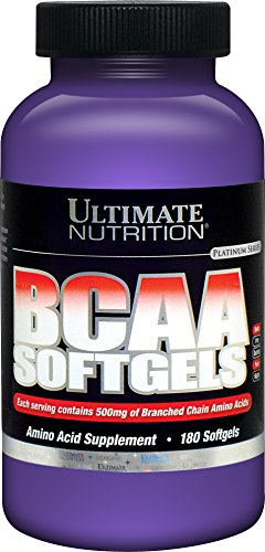 Ultimate Nutrition BCAA Supplement - 500mg Branched Chain Amino Acids Per Serving (180 ()
