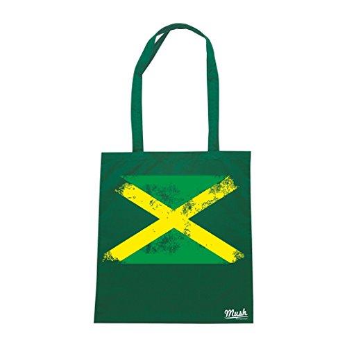 Borsa Jamaica - Verde Bottiglia - Famosi by Mush Dress Your Style