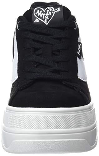 69282 Schwarz Negro Sneakers Softy Damen C24458 Schwarz MTNG Fwx57zIqS