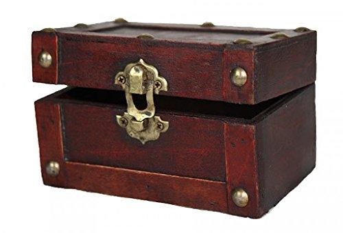 Vintiquewise(TM) Mini Treasure Chest, Small