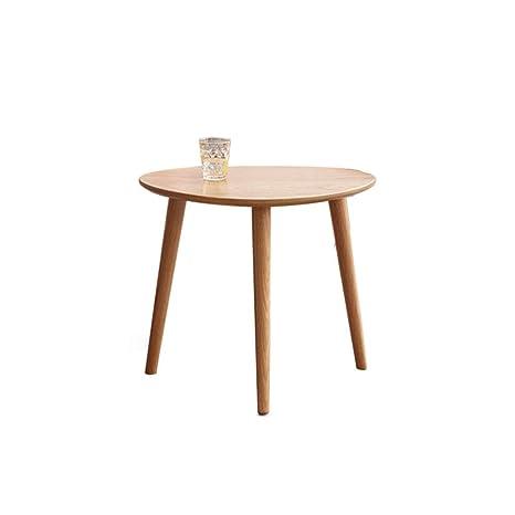 Amazon.com: Oak Small Coffee Table Side Tables Sofa End ...