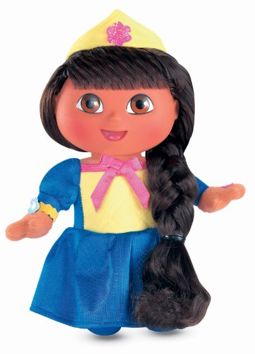 Fisher-Price On the Go Fairytale Dora Doll (Dora Tale Fairy Adventure)