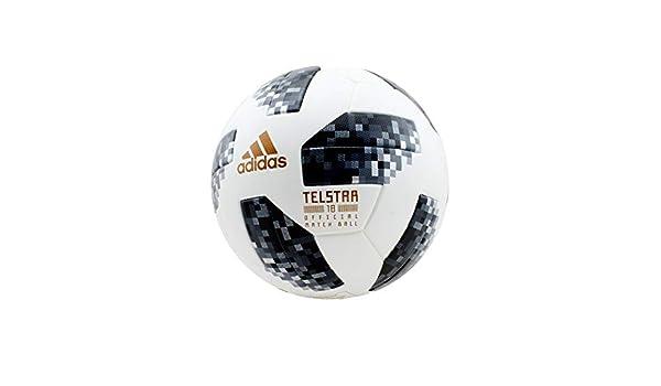 adidas World Cup – Balón de fútbol, Todo el año, Color White/Black ...