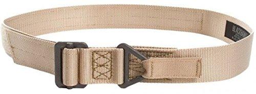 BLACKHAWK! 41CQ12DE Rigger's Belt with Cobra Buckle, Up to 41'', Desert Sand by BLACKHAWK!