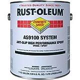 Rust-Oleum As9100 System <250 Voc Anti-Slip High Perf Epoxy Floor Coat, Navy Gray Gal Kit