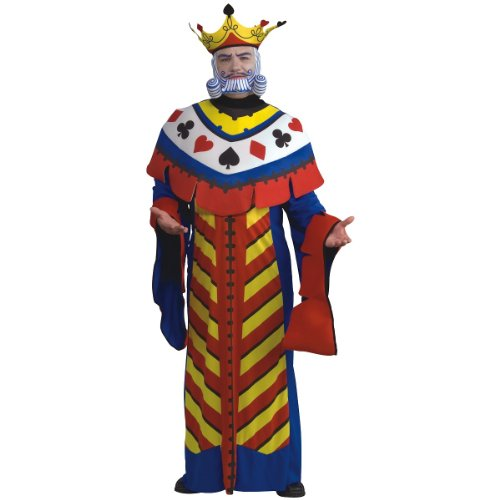 Costume King Playing Card (Playing Card King Adult Costume -)