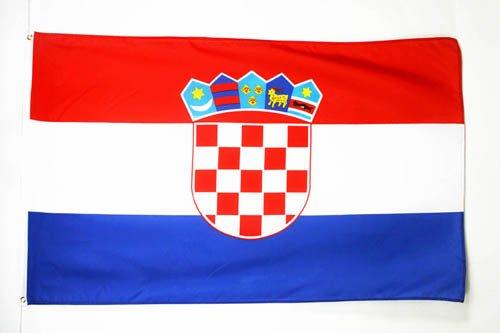 - AZ FLAG Croatia Flag 3' x 5' - Croatian Flags 90 x 150 cm - Banner 3x5 ft Light Polyester