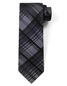 Origin Ties Classic Tartan Plaid Check Silk Tie 3'' Skinny Necktie