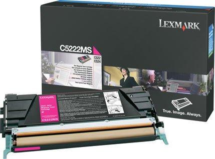 NEW Lexmark OEM Toner C5222MS (MAGENTA) (1 Each) (Color Laser Supplies)