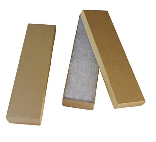 Cotton Filled jewelry Gift Box ( kraft ) 8