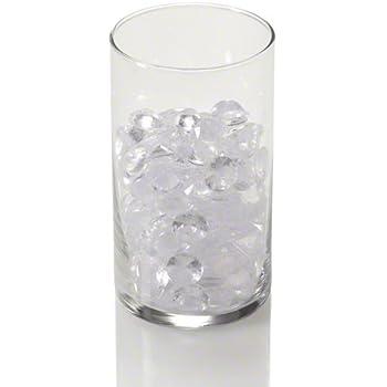 Amazon Box Of 12 Clear Acrylic Cylinder Vase Hard Wearing
