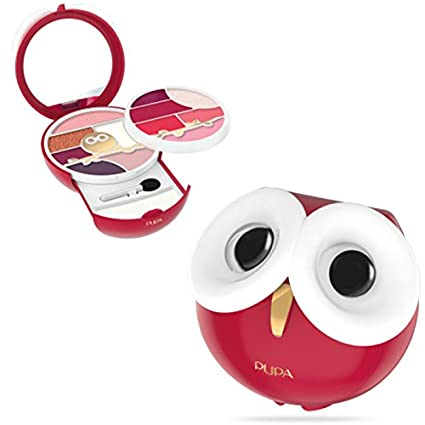 Pupa - Owl 3 013 - Estuche de maquillaje, color rojo: Amazon ...