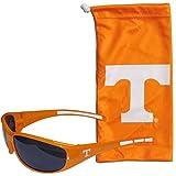 Siskiyou NCAA Tennessee Volunteers Adult Sunglass and Bag Set, Orange